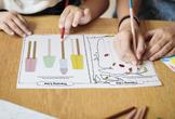 Tracing and Drawing Shapes Worksheet
