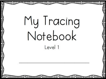 Tracing and Handwriting pack for early ed and Special Education