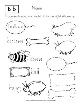 Tracing and Matching: Manuscript Handwriting Practice