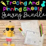 Tracing and Pinning Sheets Growing Bundle