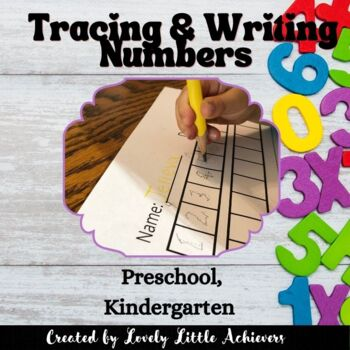 Tracing Numbers 1 30 Teaching Resources Teachers Pay Teachers