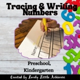Tracing and writing numbers 1-30