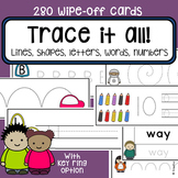 Fine motor skills task cards - pre-writing skills - Occupa