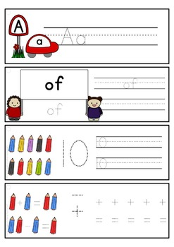 Tracing skill pre-writing practice {GIANT BUNDLE} literacy fine-motor skills OT