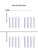 Tracing straight lines