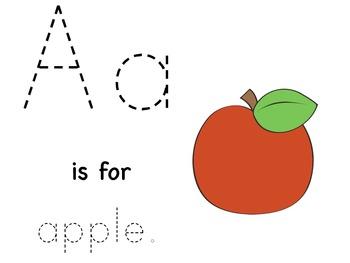 Tracing Book {Alphabet}