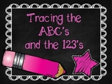 Tracing the ABCs and 123s