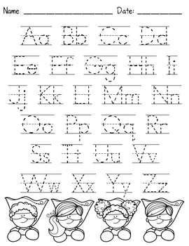 Alphabet Handwriting