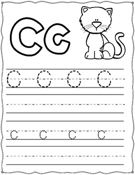 Tracing the Alphabet - Beginners