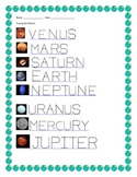 Tracing the Planets in Space!