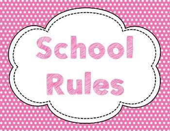 PBIS Rules