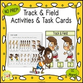 Track Count and Clip Sports Task Cards