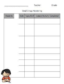 Track It! {Handy Data Tracking Pack!}