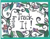 Track It! Writing-Track kids writing progress