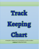 Track Keeping Chart