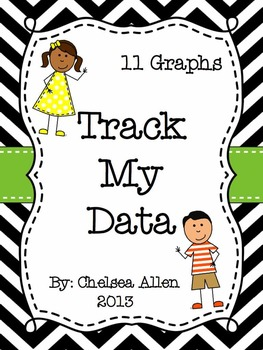 Track My Data: 11 Graphs for Student Data Binders