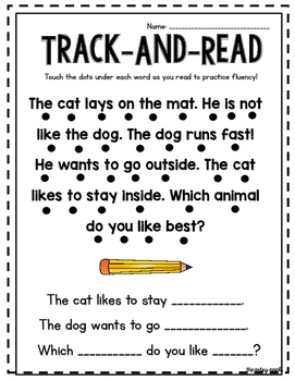 Track & Read (and) Roll & Read!