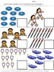Track and Field Cut and Paste Math & Literacy Printables K