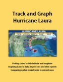 Track  and Graph Hurricane Laura
