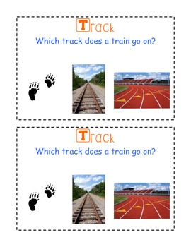Track multiple meaning