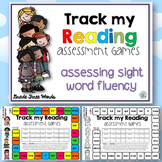Track my Reading Fluency Assessment Games GRADE THREE Words