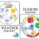 Tracker BUNDLE! Seasonal, Weather, Lunar, Parts of the Day, Days of the Week!