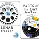 Tracker BUNDLE! Seasons, Weather, Lunar, Parts of the Day, Etc.!