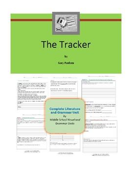 Tracker - Paulsen- Complete Literature and Grammar Unit