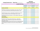 Tracking Common Core 2nd Grade English/Language Arts CCGPS