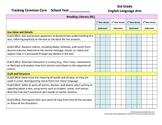 Tracking Common Core 3rd Grade English/Language Arts CCGPS