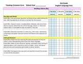 Tracking Common Core 3rd Grade English/Language Arts CCGPS
