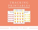 Tracking Printables for Rhythm vs Beat