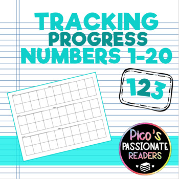 Tracking Progress - Writing 1-20