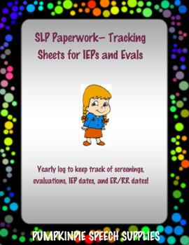 Tracking Sheets
