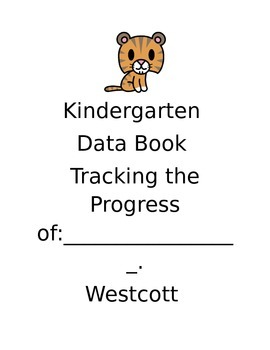 Tracking Student Progress Data Book- Common Core
