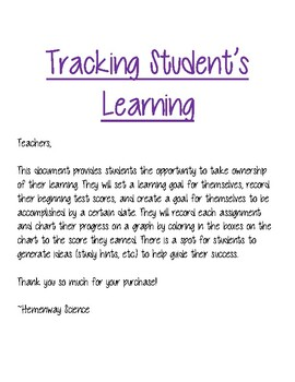 Tracking Student's Learning