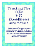 Tracking The TEKS 4.7C (Readiness)