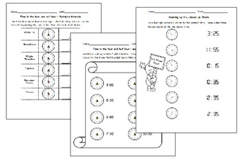 Tracking Time with Rudolph - Reading analog clocks