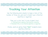 Tracking Your Attention Data Collection Sheet