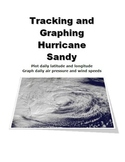 Tracking and Graphing Hurricane (Superstorm) Sandy