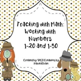 Tracking with Math: Working with Numbers 1-20 and 1-50