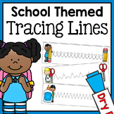 Back to School Fine Motor Tracing