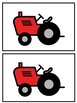 Tractor Alphabet Match - Fine Motor, Letter Recognition, Matching Letters