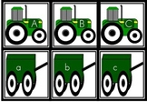 Tractor Alphabet Matching Game