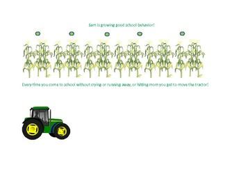 Tractor Behavior Chart