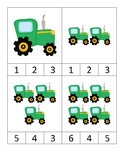 Tractor Clip Cards