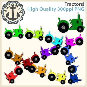 Tractor Clipart {Anchor Art Man}