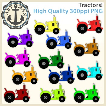 Tractor Clipart {Anchor Art Man}