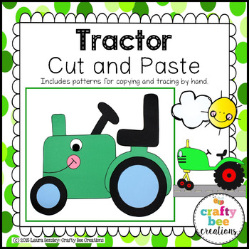 Tractor Cut and Paste