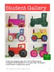 Tractor Drawing in Markers for Grades K-2